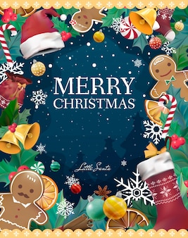 Christmas card vectors photos and psd files free download christmas greeting card vector reheart Choice Image