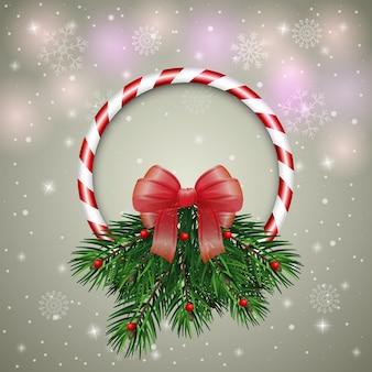 크리스마스 화 환 크리스마스 인사말 카드