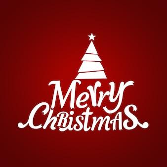 크리스마스 인사말 카드.