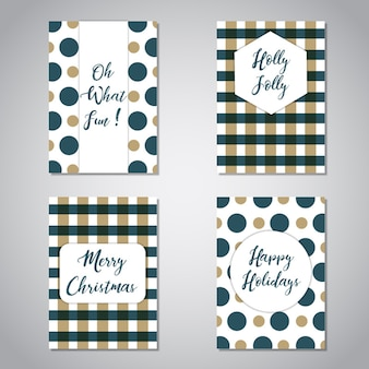 크리스마스 인사말 카드 컬렉션