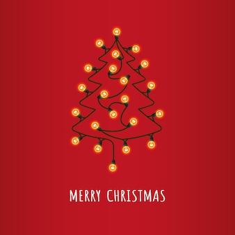 Рождественские поздравительные иллюстрации