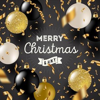 クリスマスの挨拶イラスト