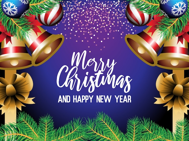 Christmas greetings illustration design