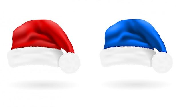Новогодняя шапка санта клаус