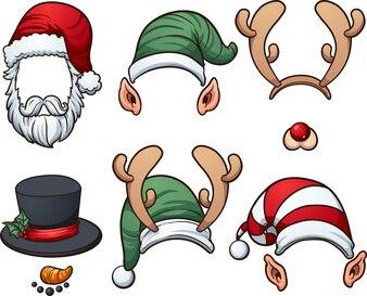 рождественские шляпы