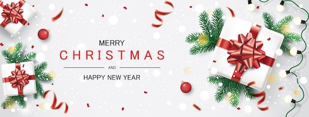 Рождественский праздник и открытка с новым годом