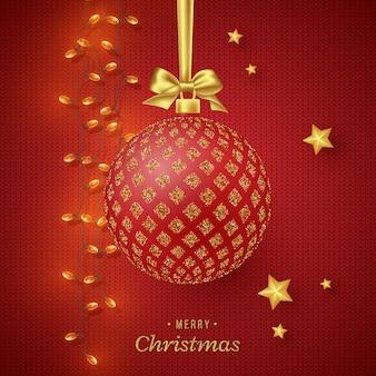 クリスマス休暇の背景。