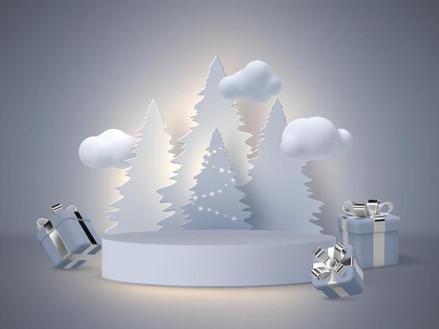 Рождественский праздник баннер.