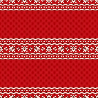Christmas holiday knitted background with a place for text. wool knit sweater texture imitation.