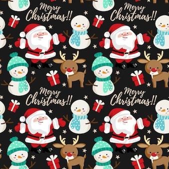 크리스마스 휴가 시즌 완벽 한 패턴입니다.