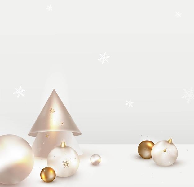 クリスマス休暇の装飾