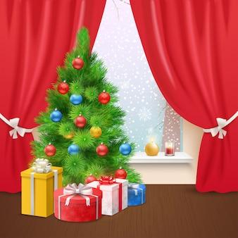Christmas home composition
