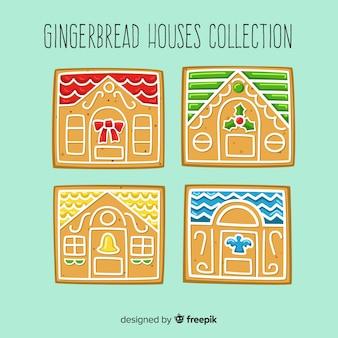 Christmas housedoor gingerbread pack
