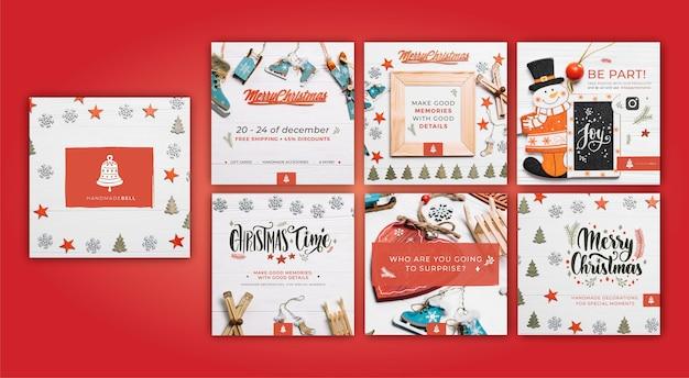 Рождественская коллекция ig post