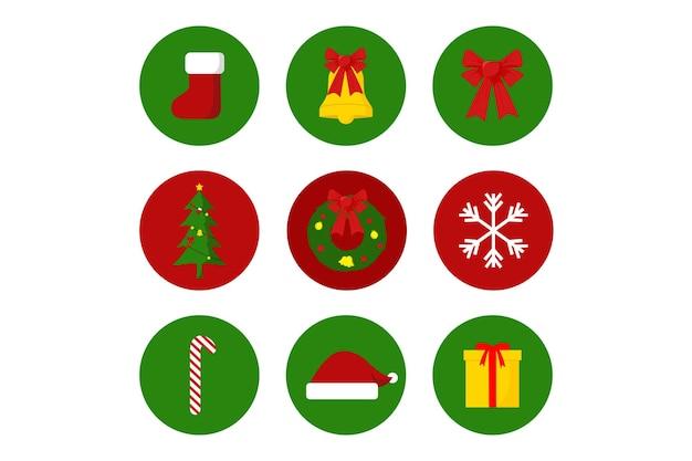 Рождественский instagram highlight