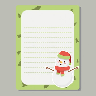 Christmas journaling cards, notes