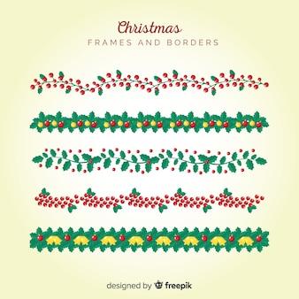 クリスマスはフレームとボーダーを残します