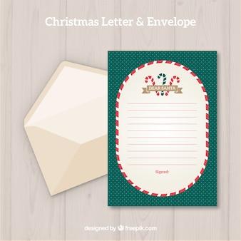 크리스마스 편지 및 봉투