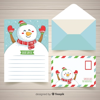 Christmas letter template