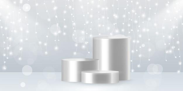 カバーデコレーションに使用できるクリスマスライト抽象要素