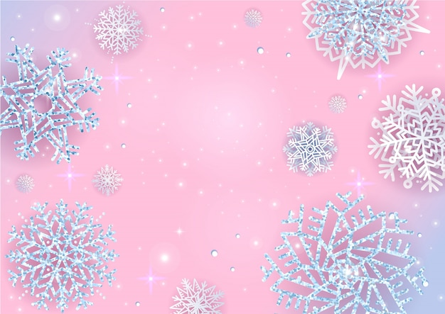 Christmas lights holiday new year abstract glitter background