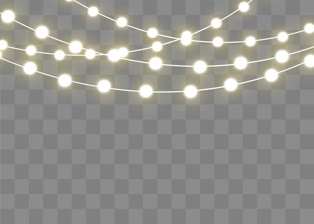 クリスマスライトは、現実的なデザイン要素を分離しました。クリスマスholiday.ledネオンランプの白熱灯