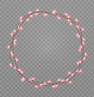 クリスマスライトは現実的なデザイン要素を分離しました
