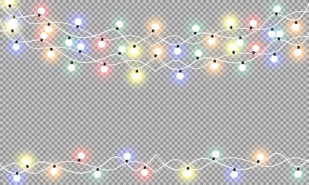 クリスマスライト、ライトガーランド。