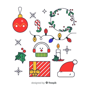 Christmas linear elements