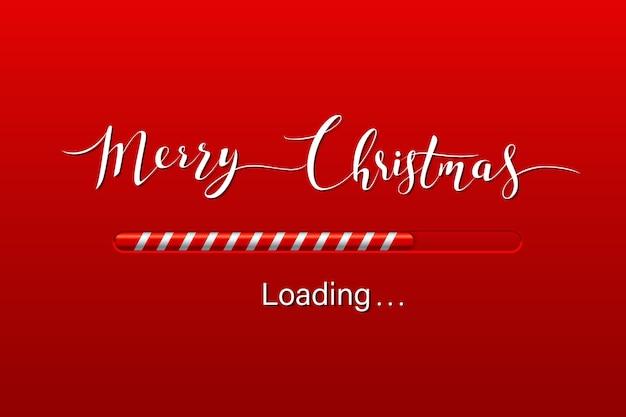 Рождественская открытка загрузки