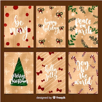 Christmas messages cards collection