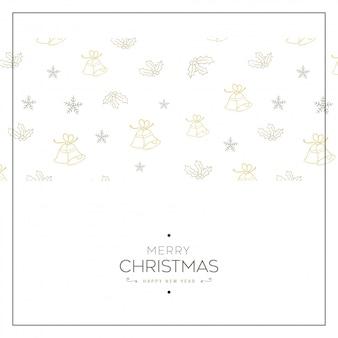 Christmas minimal banner.