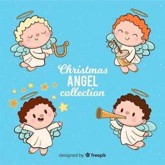 クリスマス音楽天使のコレクション