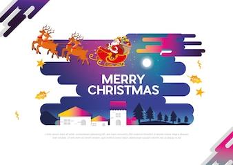 クリスマス新しいベクトルデザイン