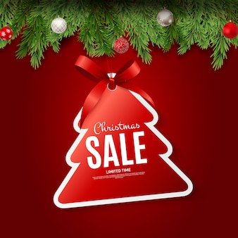 Christmas and new year sale gift voucher