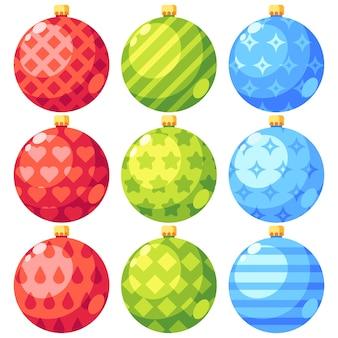 Рождественский орнамент Premium векторы
