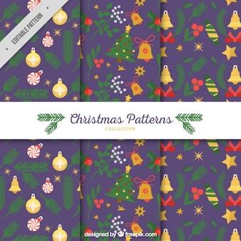 クリスマスの装飾パターン