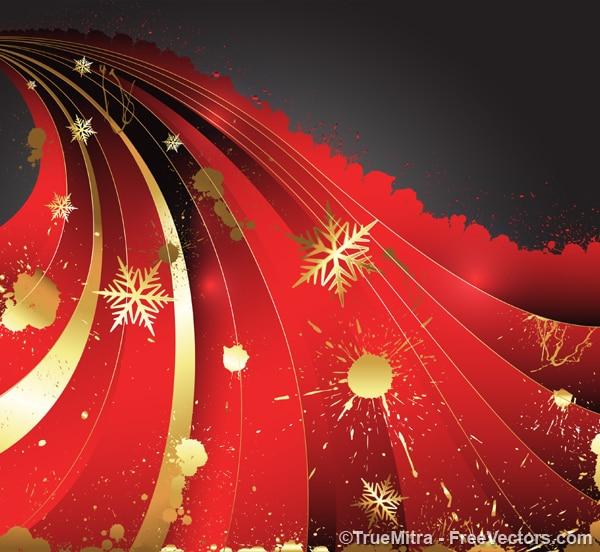 황금 밝아진 크리스마스 장식품