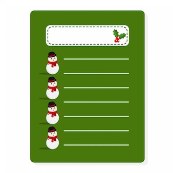 Christmas paper set use for printout, letter, diary, scrapbook