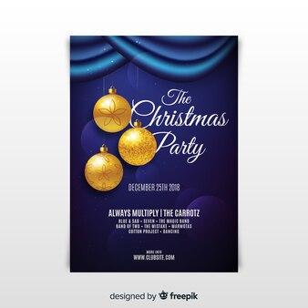 クリスマスパーティーチェア