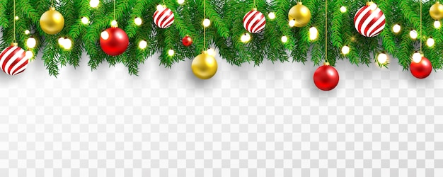 Christmas party and happy new year light banner background.