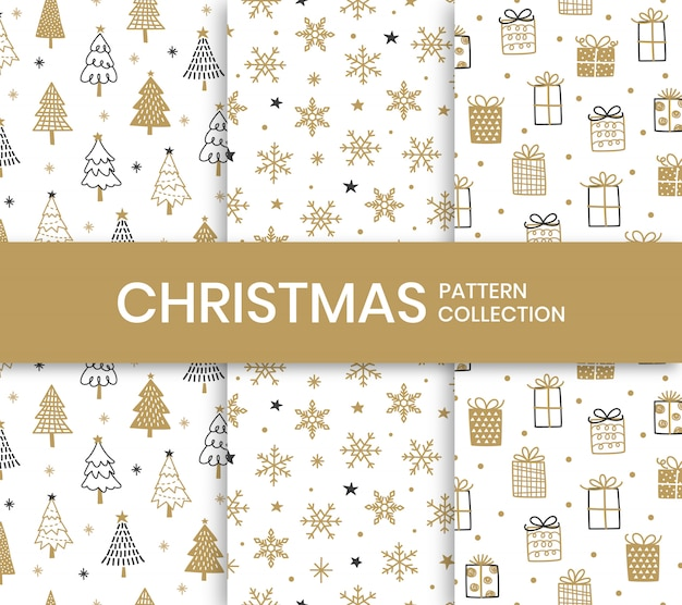 Christmas pattern collection.
