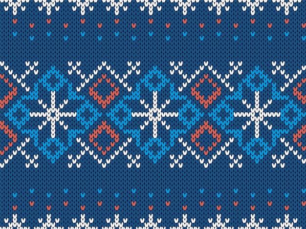 クリスマスパターンイラストデザイン