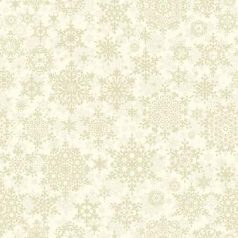Christmas pattern snowflake background.
