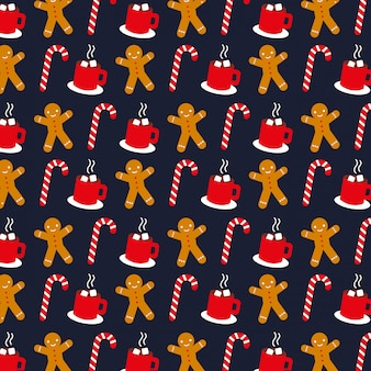 Christmas patternn background.  illustration
