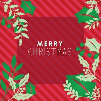 クリスマスポスターベクトル
