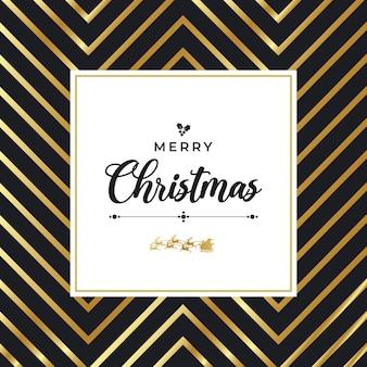 Рождественский постер с рисунком bg