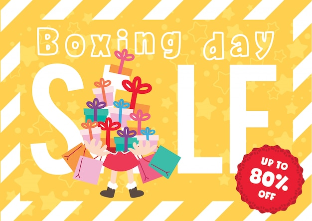 Christmas promotion boxing day sales