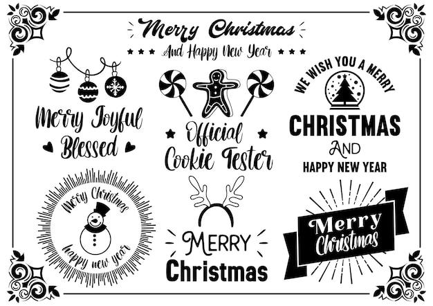 クリスマスの引用イラストバナー、ポスター、チラシのベクトル