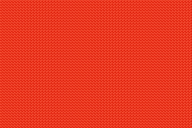 Рождественский красный вязаный узор. шерстяная ткань.